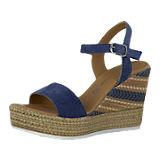 MARCO TOZZI Sandaletten blau-kombi