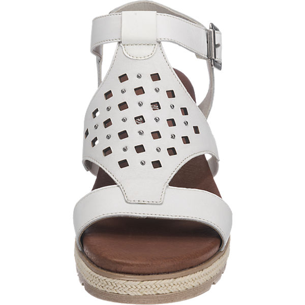 remonte Sandaletten weiß