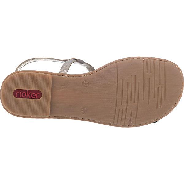 rieker Sandaletten grau