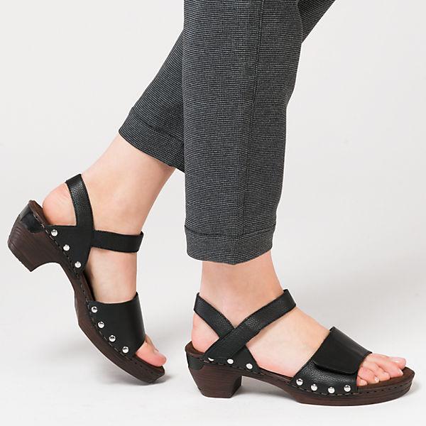 rieker Sandaletten schwarz