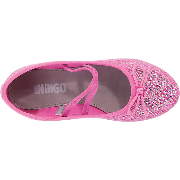 indigo kinder ballerinas pink mirapodo. Black Bedroom Furniture Sets. Home Design Ideas