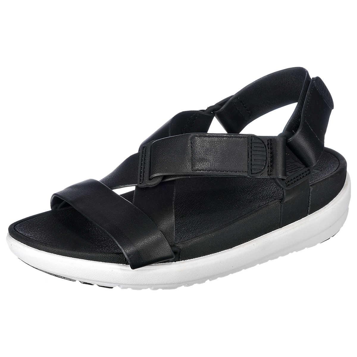 FitFlop Sling Sandalen schwarz - FitFlop - Sandalen - Schuhe - mirapodo.de
