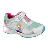 DISNEY DIE EISKÖNIGIN Kinder Sneakers Blinkies silber