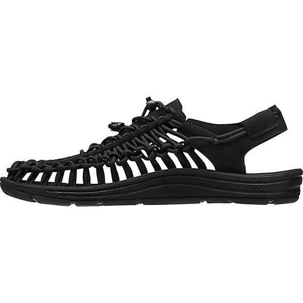 KEEN Uneek Outdoor Sandalen schwarz