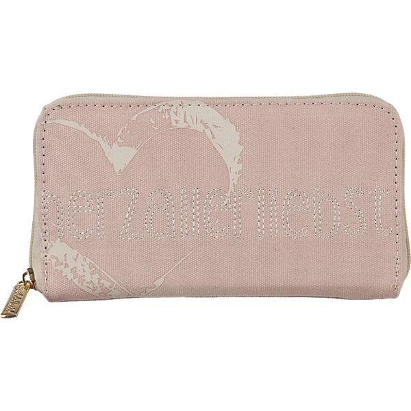 Adelheid Herzallerliebst Geldbörse rosa
