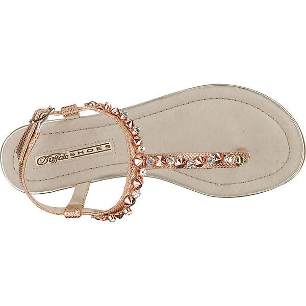 BUFFALO Sandaletten gold