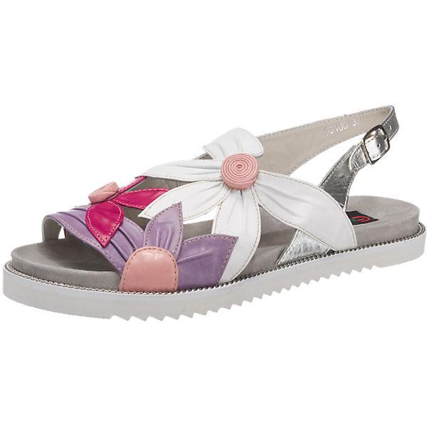 Everybody Sandaletten lila-kombi