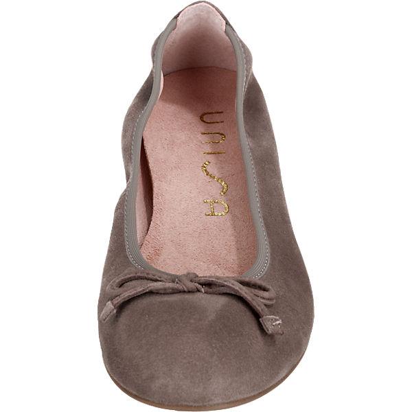 Unisa Acor Ballerinas grau