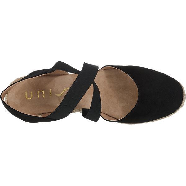 Unisa Cele Sandaletten schwarz