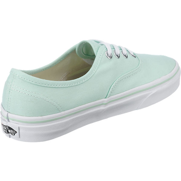 VANS Authentic Sneakers grün