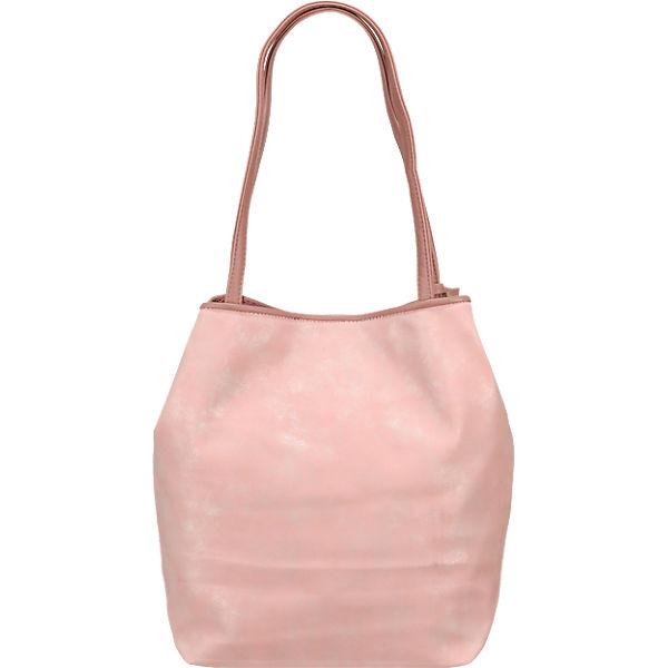 TOM TAILOR Mila Shopper rosa