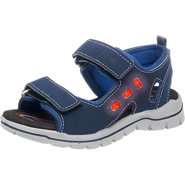 ricosta sandalen blinkies weite m f r jungen blau mirapodo. Black Bedroom Furniture Sets. Home Design Ideas