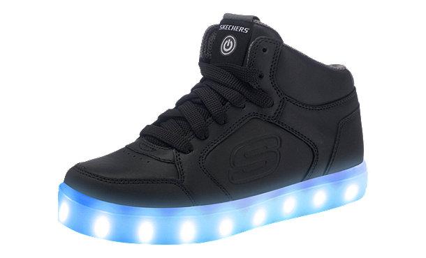 kinder sneakers high blinkies mit led sohle schwarz im shop von mirapodo mirapodo. Black Bedroom Furniture Sets. Home Design Ideas