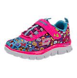 Sneakers für Mädchen, emoji rosa