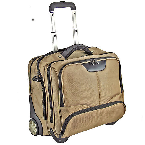 Dermata Business-Trolley 43 cm Laptopfach beige