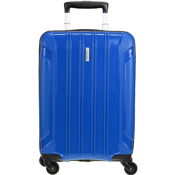 Travelite Colosso 4-Rollen Kabinen Trolley 55 cm blau