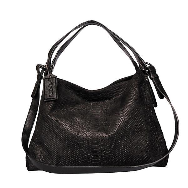 POON Switzerland Handtasche schwarz-kombi