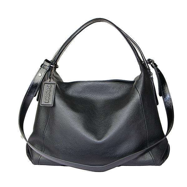 POON Switzerland Handtasche schwarz