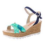 Lisa Tucci Sandaletten blau-kombi