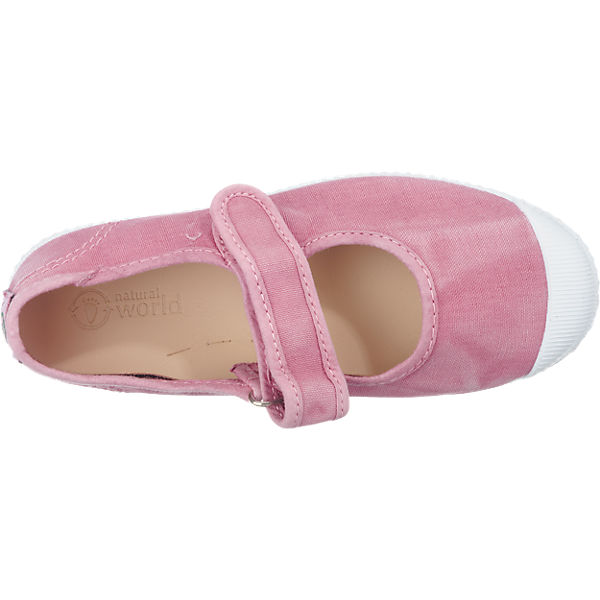 pink Kinder pink world Ballerinas Kinder world natural Ballerinas natural qCxCv1wT