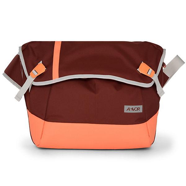 AEVOR Messenger Bag Umhängetasche 49 cm rot
