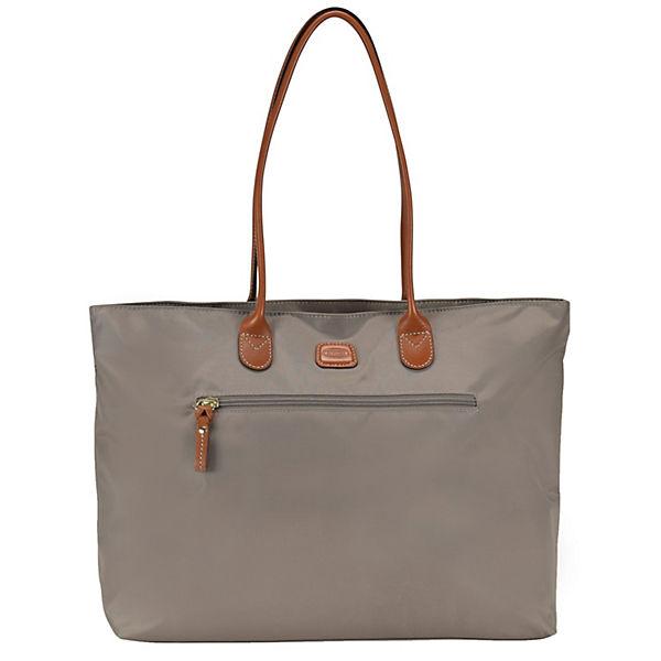 Bric's X-Travel Shopper Tasche 38 cm Laptopfach grau