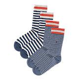 Kinder Socken Doppelpack blau