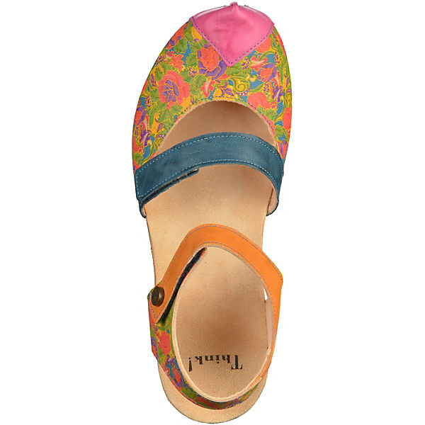 Think! Sandaletten mehrfarbig