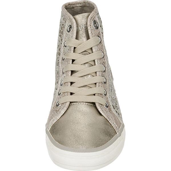 s.Oliver Sneakers beige-kombi