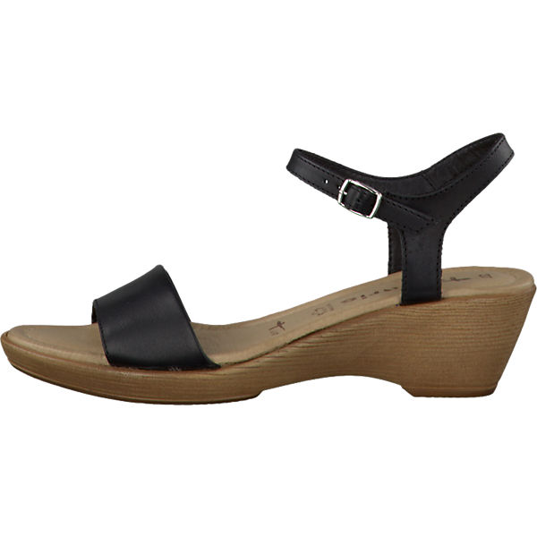 tamaris tamaris marina sandaletten schwarz mirapodo. Black Bedroom Furniture Sets. Home Design Ideas