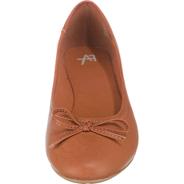 Anna Field Ballerinas cognac