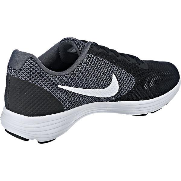 Nike Performance Revolution 3 Sportschuhe schwarz