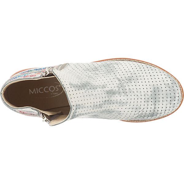 Miccos Stiefeletten grau-kombi