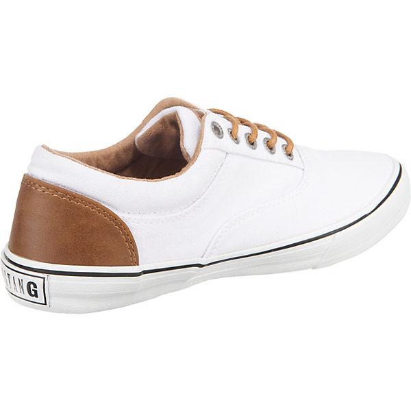 MUSTANG Sneakers weiß