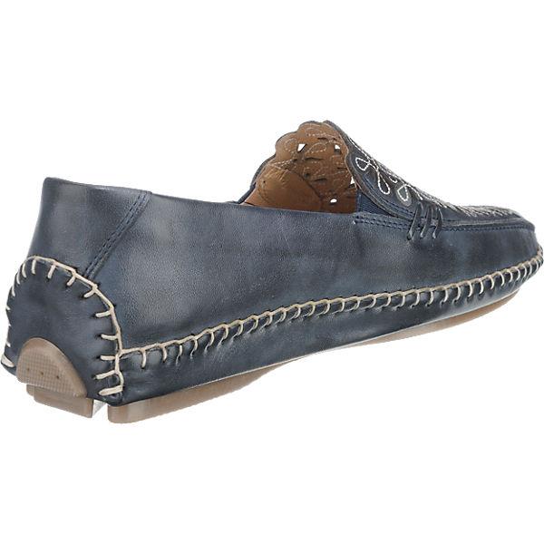 Pikolinos Jerez Slipper blau