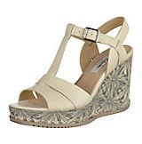 Clarks Sandaletten weiß