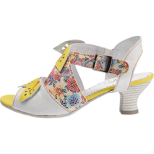SIMEN Sandaletten mehrfarbig