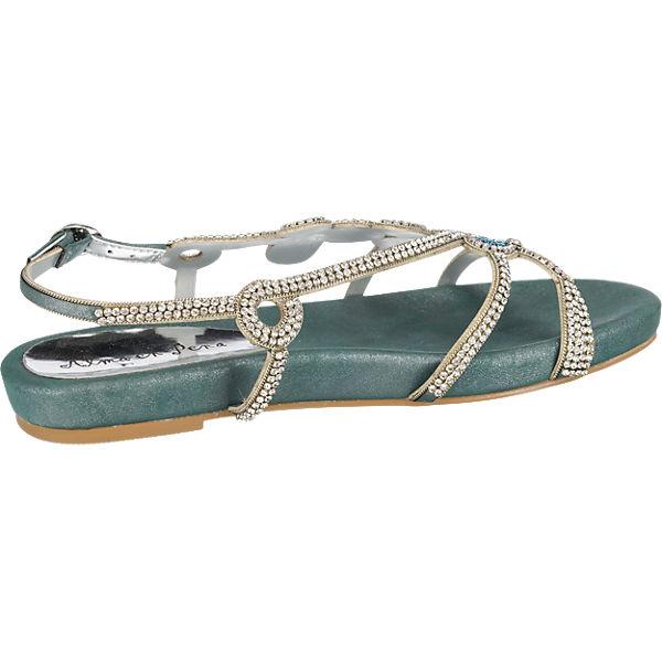 Alma en Pena Sandaletten blau-kombi