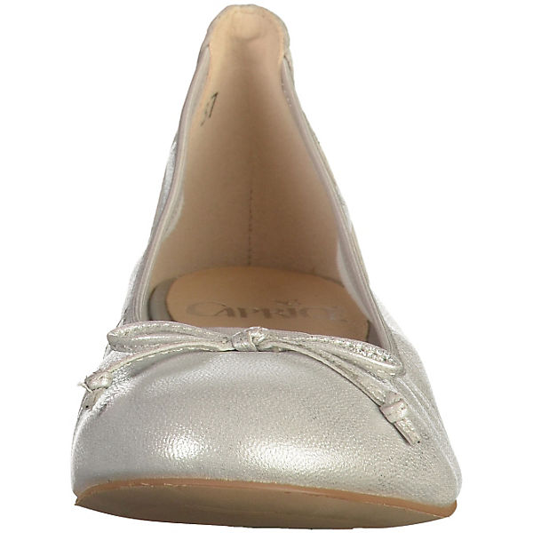 CAPRICE Ballerinas silber