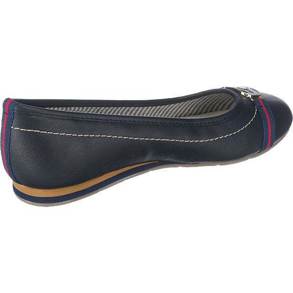 TOM TAILOR Ballerinas dunkelblau