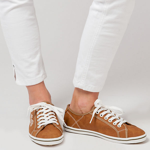 TOM TAILOR Sneakers camel