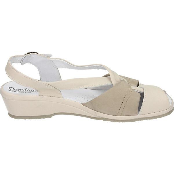 Comfortabel Sandalen beige-kombi