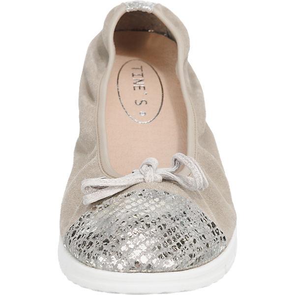 Tine's Ballerinas grau