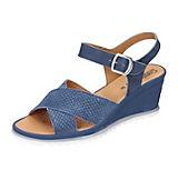 Comfortabel Sandaletten blau