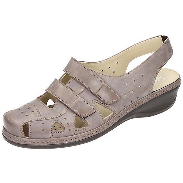 Comfortabel Sandalen braun
