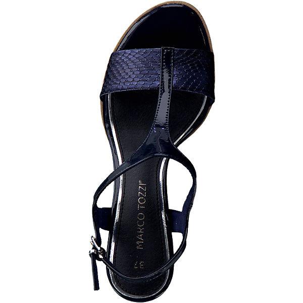 marco tozzi marco tozzi paduli sandaletten blau mirapodo. Black Bedroom Furniture Sets. Home Design Ideas