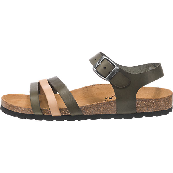 Plakton Sandaletten beige-kombi