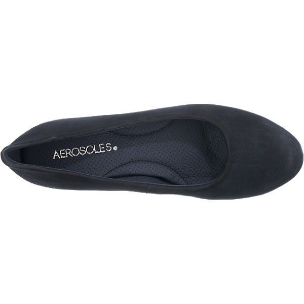 Aerosoles Pumps blau