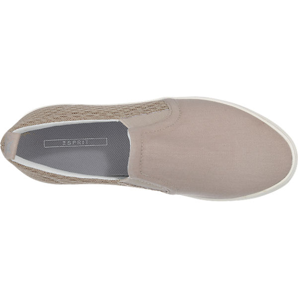 ESPRIT Semmy Slipper grau