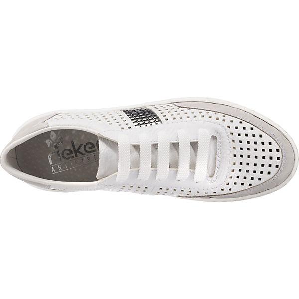 rieker Sneakers weiß